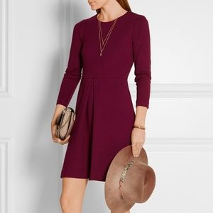MADEWELL Gia Pleated Fit and Flare Dress